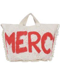 ..,merci Cross-body Bag - Natural