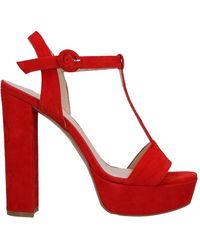Noa Sandals - Red