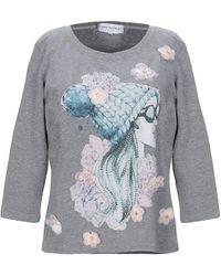 Anna Rachele Camiseta - Gris