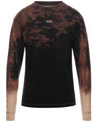 424 T-shirt - Marrone