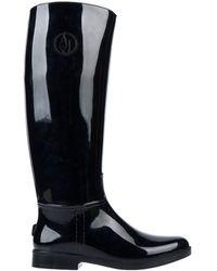 Armani Jeans Bottes - Noir