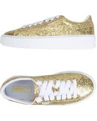 PUMA Sneakers & Tennis shoes basse - Metallizzato