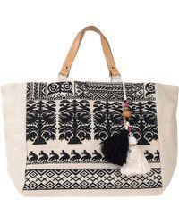 Star Mela Handbag - Natural