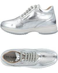 Blu Byblos Sneakers & Tennis shoes basse - Metallizzato