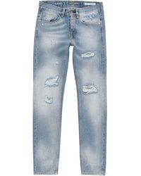 Frankie Morello - Pantalon en jean - Lyst