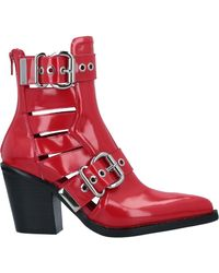 Jeffrey Campbell Stiefelette - Rot