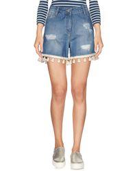 Shiki - Denim Shorts - Lyst