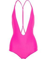 Mikoh Swimwear Bañador - Rosa