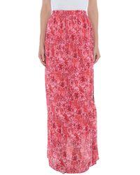 Pinko Long Skirt - Red
