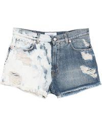 Givenchy Denim Shorts - Blue