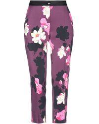 MARTA STUDIO Casual Trousers - Purple