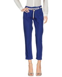 Franklin & Marshall - Casual Trouser - Lyst