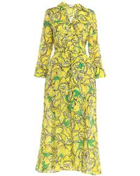 Diane von Furstenberg Long Dress - Yellow