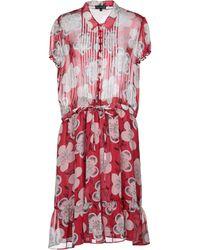 Emporio Armani Knee-length Dress - Red