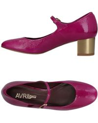 Avril Gau Pump - Purple