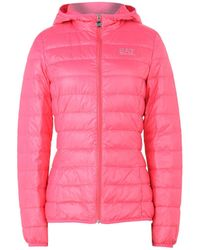 EA7 Down Jacket - Pink