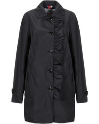 Geospirit Overcoat - Black