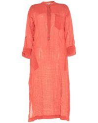 Three Graces London 3/4 Length Dress - Pink