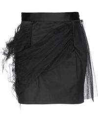 Y. Project Mini Skirt - Black