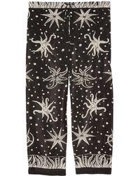 Anna Sui - 3/4-length Shorts - Lyst