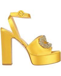Giannico Sandals - Yellow