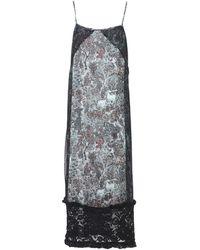 I'm Isola Marras 3/4 Length Dress - Black
