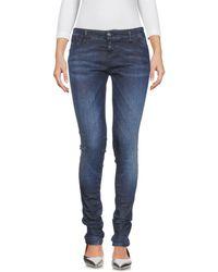 2W2M Denim Trousers - Blue