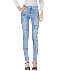 Zoe Karssen Pantaloni jeans - Blu