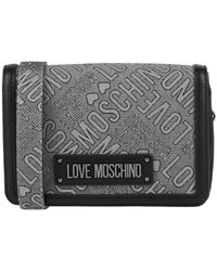 Love Moschino Handbag - Gray
