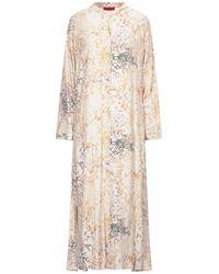 MAX&Co. Long Dress - Natural