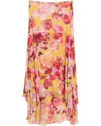 Pinko Long Skirt - Yellow
