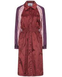 Dondup Overcoat - Red