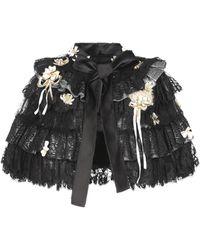 Dolce & Gabbana Capes & Ponchos - Black