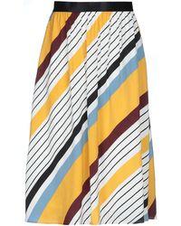Gestuz 3/4 Length Skirt - White