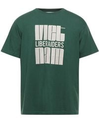 LIBERAIDERS T-shirt - Green