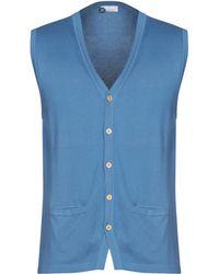 Heritage Cardigan - Bleu