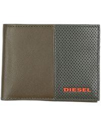 DIESEL Brieftasche - Grün