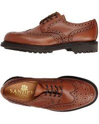 Sanders Zapatos de cordones - Marrón