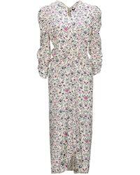 Isabel Marant Langes Kleid - Mehrfarbig