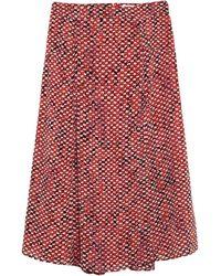 Lala Berlin Midi Skirt - Red