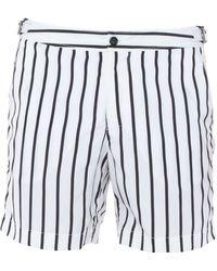 Dolce & Gabbana Swimming Trunks - White
