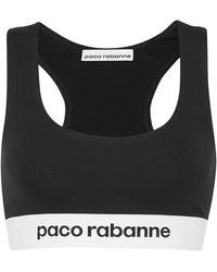 Paco Rabanne Bra - Black