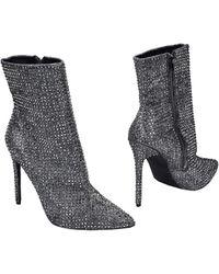 Steve Madden Ankle Boots - Metallic