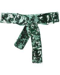 The Attico Belt - Green