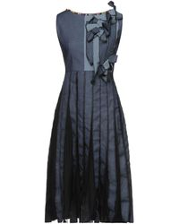 Antonio Marras Vestido por la rodilla - Azul