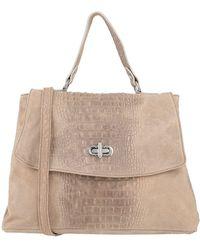 Studio Moda Handbag - Natural