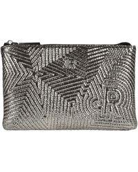 John Richmond Handbag - Metallic