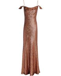 Rachel Zoe Long Dress - Brown
