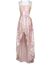 W Les Femmes By Babylon Short Dress - Pink