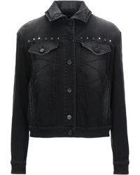 Versace Denim Outerwear - Black
